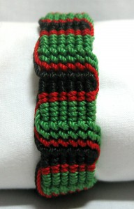 green,red,black