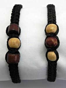 black 3 big beads