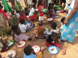 The children enjoyed their meal!
