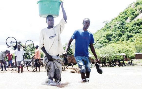 Floods during growing season will decrease harvests in Malawi